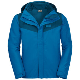 Jack Wolfskin Arland 3In1 Jacket Men blue pacific